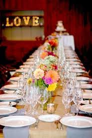 Cheerful And Simple Rustic Wedding Decor Looking For More In Toronto View This