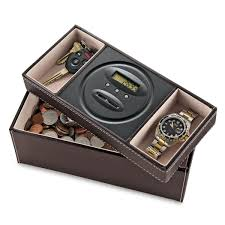Mens Dresser Valet With Charger by Dresser Valet With Digital Coin Counter So That U0027s Cool