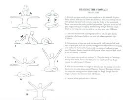 Healing The Stomach Yoga