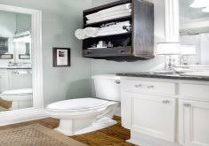 Over The Toilet Storage Ideas Upcycled Bathroom Cabinet