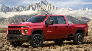 100 Chevrolet Diesel Truck The 2020 Silverado HD Duramax Can Tow Up To 35500
