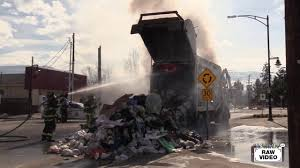 Garbage Truck Fire - YouTube Waste Management Cng Pete 320 Mcneilus Zr Garbage Truck Youtube Getting Dumped In A Simulator 2011 Gameplay Hd Autocar Acx Heil Rapid Rails First Gear Mack Terrapro Freedom Front Load Dsny New Yorks Trucks Toy Youtube Videos Video 3 Garbage Can Pick Up Car Wash For Baby Toddlers Progressive Loader Pickup Truck Fire