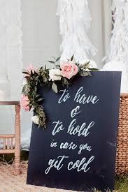 Perfect For A Fall Winter Outdoor Wedding To Have And Hold In Case You Get Cold Blankets Guests