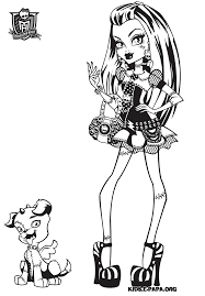 Monster High Characters Coloriage Monster High Baby