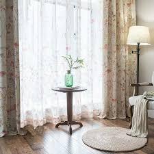 modern gardine schmetterlinge design weiß im schlafzimmer