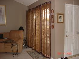 Kohls Triple Curtain Rods by Patio Ideas Patio Door Curtain Rods With Bamboo Shade Curtain And