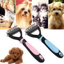 hair fur shedding blade trimmer grooming rake dematting comb brush