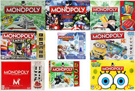 2018 Promo Assorted Monopoly Board Game Classic Electronic Ultimate Banking Empire Frozen