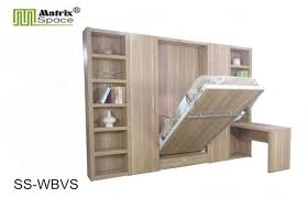 Graceful Fold Up Bed Wall Soho Single E1 Mdf Modern Mounted Beds