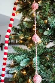 Holiday Home Tour 2016 Tree Rope Martha Stewart Christmas