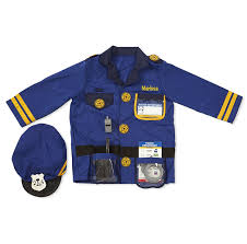 Magna Tiles Amazon India by Buy Melissa U0026 Doug 4835 Police Officer Role Play Costume Set
