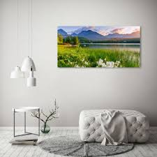 glas bild wandbilder druck auf glas 120x60 deko landschaften