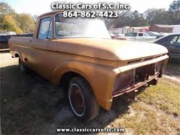 100 Ford Unibody Truck For Sale 1963 F100 For ClassicCarscom CC994843