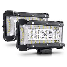 100 Led Work Lights For Trucks Led Lights For Pickup 5 Trucks Automotive Led Light Bulbs Dual Side
