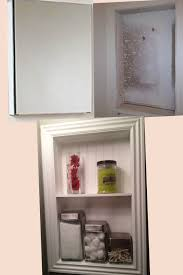 Pottery Barn Hotel Recessed Medicine Cabinet by How To Frame A Medicine Cabinet Bathroom Design Pinterest