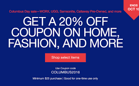 EBay Columbus Day Sale Extra 20% Off Home Goods: WORX AeroCart $96 ... Coupon Code Really Good Stuff Free Shipping Mlb Tv Coupons 2018 The Business Of Display Part 7 Making Money With Coupons Adbeat Stercity Promo Codes Ebay Coupon 50 Off Turbotax Premier Dell Laptop Cyber Monday Deals 2016 How To Get Discount Today Sony A99 Auto Parts Warehouse Codes Dna 11 Bjs Book January Nume Canada Drugstore 10 India Promo April Working Code Home Facebook