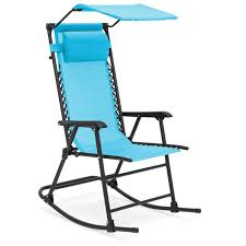 Best Choice Products Outdoor Folding Zero Gravity Rocking Chair W/  Attachable Sunshade Canopy, Headrest - Blue Jack Post Knollwood Classic Wooden Rocking Chair Kn22n Best Chairs 2018 The Ultimate Guide Rsr Eames Black Desi Kigar Others Modern Rocking Chair Nursery Mmfnitureco Outdoor Expressions Galveston Steel Adult Rockabye Baby For Nurseries 2019 Troutman Co 970 Lumbar Back Plantation Shaker Rocker Glider Rockers Casual Glide With Modern Slat Design By Home Furnishings At Fisher Runner Willow Upholstered Wood Runners Zaks