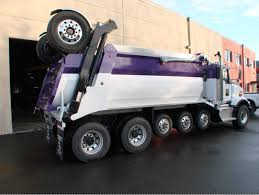 100 Truck Axles Super Dump Lift Trailing Axle MAXLEDB Air Suspension PTO Powered