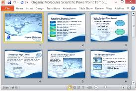 Science Fair Powerpoint Template Poster Project Ideas