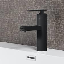 wasserhahn denver matt schwarz waschtisch armatur waschtischarmatur waschbecken waschbeckenarmatur badezimmer badarmatur