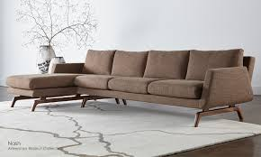 the nash sofa by american leather is available through stickley