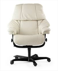 fauteuil bureau blanc fauteuil de bureau blanc dossier inclinable stressless