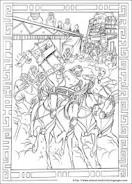 Egypt Coloring Pages Prince Educational Fun Kids Free Download