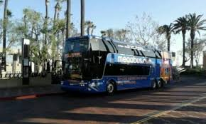 Megabus Bathroom Double Decker by Megabus At Union Station The Stop Is Located At Bus Bay 1 Of