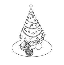 Christmas Tree Coloring Books by Christmas Tree Coloring Pages Coloring Pages Christmas Tree Easy