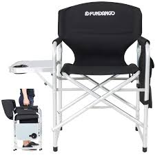 FUNDANGO Lightweight Folding Directors Chair Portable Camping Chairs Padded  Full Back Aluminum Frame Lawn Chair With Armrest Side Table And Handle For  ... Ipirations Walmart Folding Chair Beach Chairs Target Fundango Lweight Directors Portable Camping Padded Full Back Alinum Frame Lawn With Armrest Side Table And Handle For 45 With Footrest Kamprite Sun Shade Canopy 2 Pack Details About Large Rocking Foldable Seat Outdoor Fniture Patio Rocker Cheap Kamileo Cup Holder Storage Pocket Carry Bag Included Glitzhome Fishing Seats Ozark Trail Cold Weather Insulated Design Stool Pnic Thicker Oxford Cloth Timber Ridge High Easy Set Up Outdoorlawn Garden Support Us 1353 21 Offoutdoor Alloy Ultra Light Square Bbq Chairin