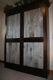 Rustic Murphy Bed With Regard To Barnwood And Alder This Gorgeous Flickr Decor 8