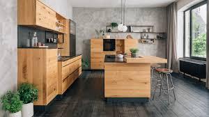 holzarbeitsplatten fronten natürliche küchen aus