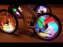 Tutorial on Installation of Bicycle Tire Spoke LED Light Bike