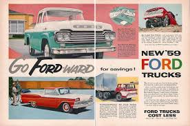 1959 Ford Truck Ad | Automotive Art | Pinterest | Ford Trucks, Ford ... Adsford Trucks Toyota Tundra A Powerful Trucktoyota Ads 1935 Chevrolet Truck Ad01 Chevygmc Truck Ads Pinterest Watch This Montage Of Vintage Ads From The Past 100 Gender Stereotypes In Advertisement Jasonleestepp 7 Awesome Ford Fordtrucks Effective Ram Creative Creative Out Door Advertising Agency Auto Rickshaw Bus Advertisement Mini Led Truck On Road Youtube Bergstrom Automotive 60 Chevy Dodge Intertional Fargo Mobile Billboard