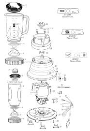 Waring 51BL13 Parts List And Diagram EReplacementParts