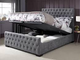 Marvelous Super King Size Ottoman Bed – Interiorvues