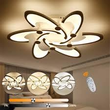48w deckenleuchte led deckenle dimmbar le fernbedienung wohnzimmer modern