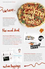 newsletter cuisine impressive email newsletter designs