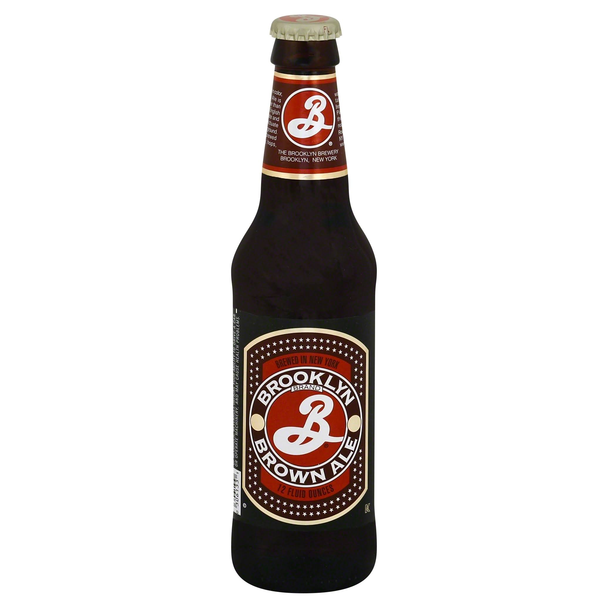 Brooklyn Brewery Brown Ale - 12 fl oz bottle