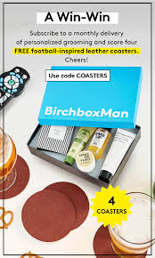 Birchbox Man Coupon: FREE NFL Coasters With Subscription ... Alibris Voucher Code Dna Testing For Ancestry Nba Store Coupons Promo Codes Discounts Black Friday Gbes Leed Coupon Myrtle Beach Restaurant Coupons 2018 Birchbox Man Coupon Free Nfl Coasters With Subscription All Sales Go Here The Yordie World Mixers Forum Solbari Rewards And Promotions Solbari Uk Sun Protection Free Gift Discount Extension Magento 1 By Creativeminds Events Uniqso Sale Buy One Get All Day Sale Ce Coupon