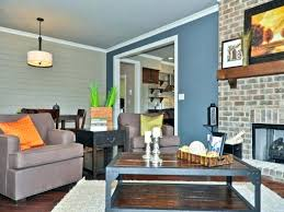 Navy Rooms Blue Accent Wall In Living Room