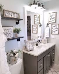 Gorgeous 110 Spectacular Farmhouse Bathroom Decor Ideas Roomadness 2017