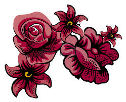 Download Maroon Flowers Stock Illustration Image Of Background