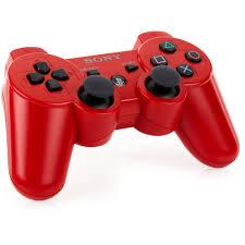 Sony DualShock 3 Wireless Controller Red PS3 Walmart