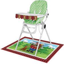 Lum-Bear-Jack High Chair Kit, Banner : 3 1/2