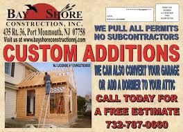 Bathtub Reglazing Middletown Nj by General Contractor Bayshore Construction Nj