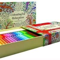 Colouring For Relaxation Connector Pen 60 Coloring Book