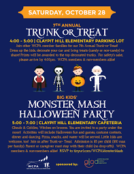 Grants Farm Halloween Events 2017 by 7th Annual Trunk Or Treat And Monster Mash Halloween Party