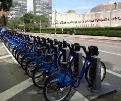 siege de transport york une ville verte des vélos bleus disponibles en du