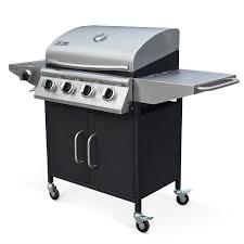 cuisine barbecue gaz barbecue à gaz 4 brûleurs cuisine extérieure albert